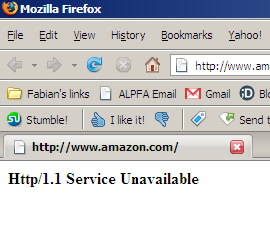 Amazon is Down