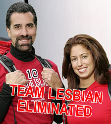 Team Lesbian Eliminated