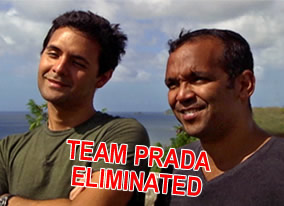 Team Prada Eliminated