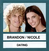 Brandon & Nicole in Last Place