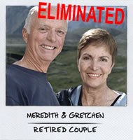 Meredith & Gretchen, Eliminated