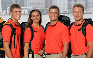 The Linz Family, Amazing Race 8 Team