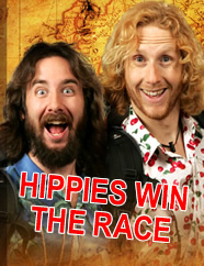Hippies Win the Race