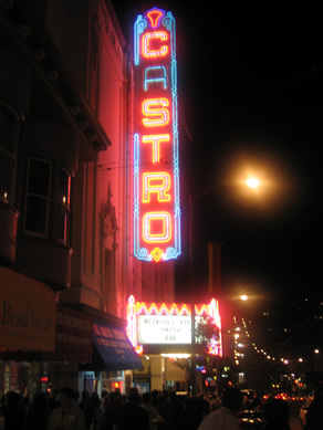 Castro Sign Friday Night