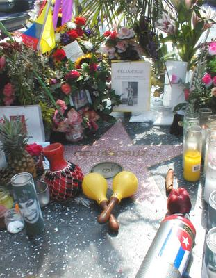 Celia Cruz Memorial, Hollywood Walk of Fame