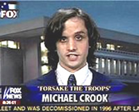 Michael Crook, Internet Troll
