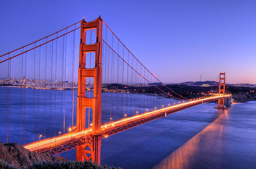 Golden Gate Bridge Using HDR Photography