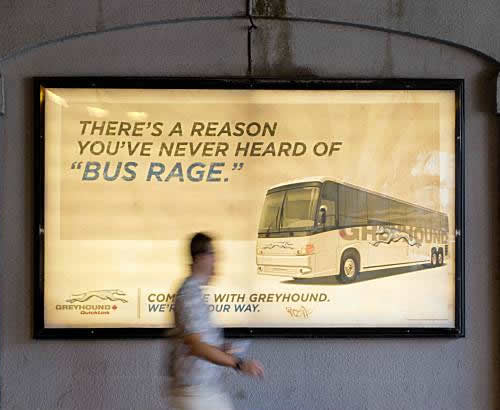 Unfortunate Greyhound Ad in Canada