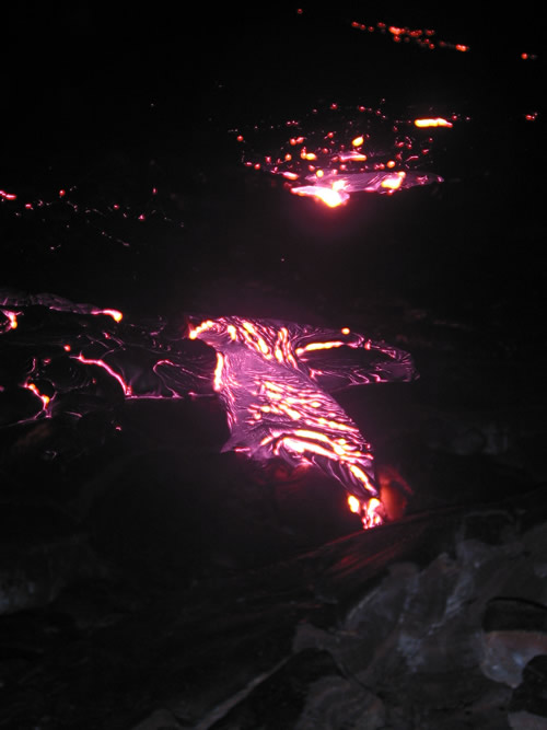 Cooled Lava Flow, Hawaii Volcanoes National Park