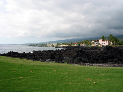 View From the Tee 13th Hole, Kona Country Club Ocean Course