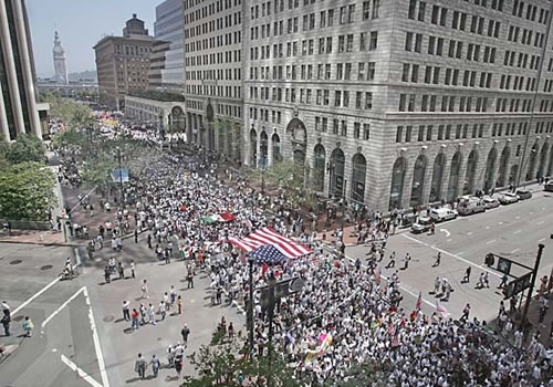 San Francisco Immigration March