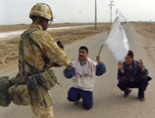 Iraqis Surrender