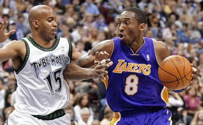 Darrick Martin and Kobe Bryant