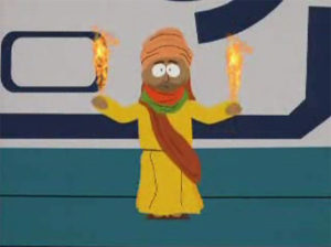 Mohamed on South Park