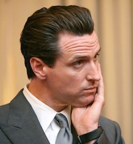 Gavin Newsom in Disbelief