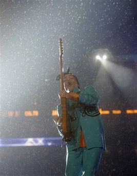 Prince at Super Bowl Halftime Show