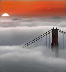San Francisco Fog at Sunrise