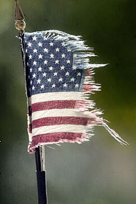 Tattered Flag